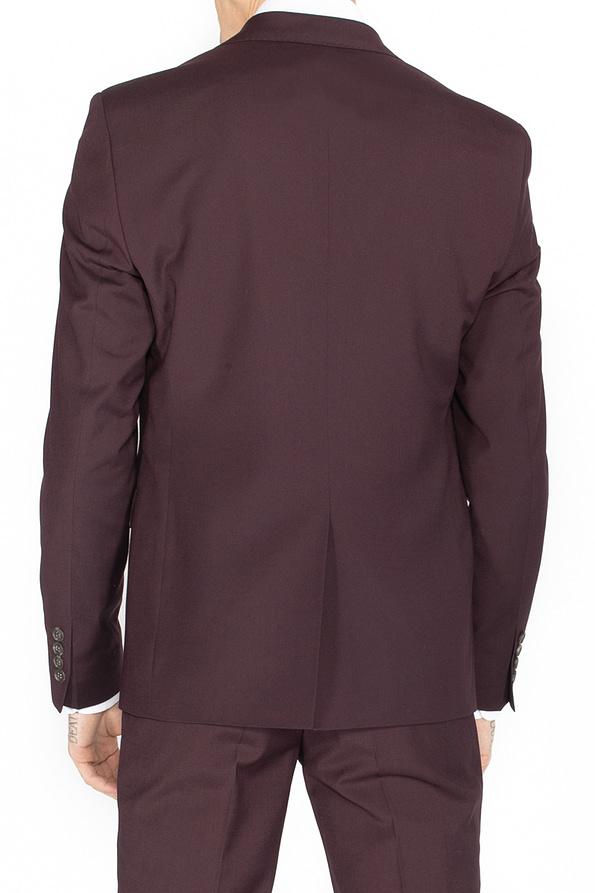 Produktbillede af bordeaux jakkesæt ryg