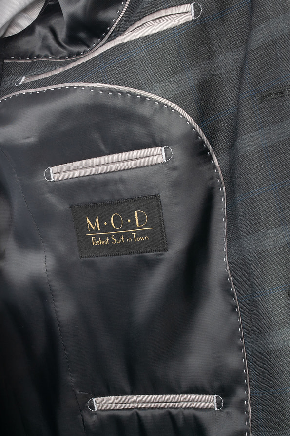 Billede til at vise indersiden af jakken